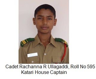 Katari house capatin Cadet Rachanna RU