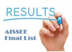 AISSEE-2017 Final List -Click to View