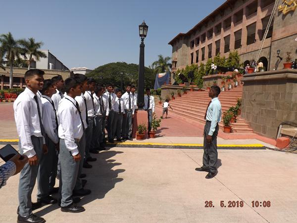 Cdt SL Y Shankar and our cadets